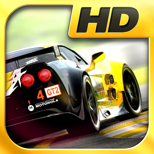 Real Racing 2 HD på rea