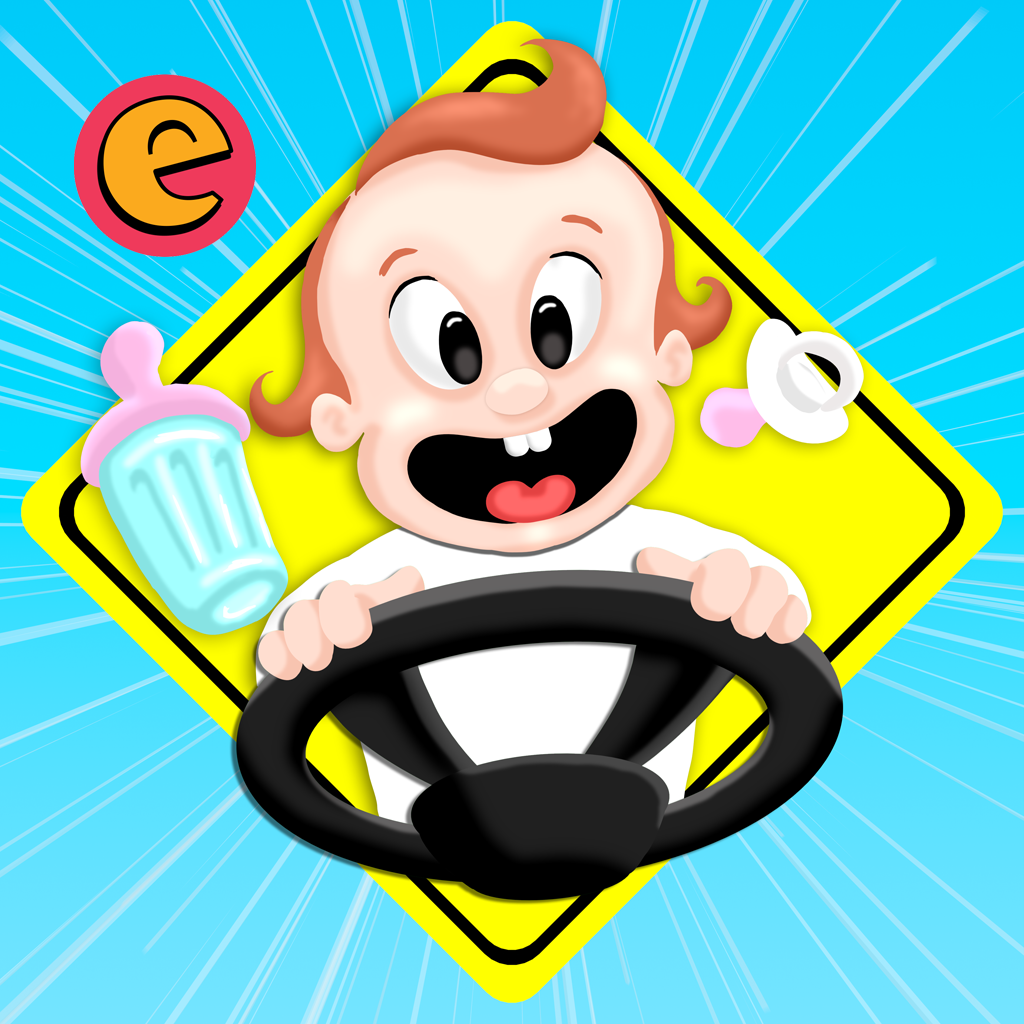 mzl.cyakahyh Baby on Board   Kids Driving Game by Excitabyte Ltd   Review and Giveaway